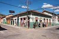 Street Cel. Domingues de Castro, Street Monsenhor Ignácio Gióia, São Luís do Paraitinga, São Paulo, Brazil