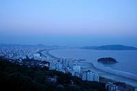 Beach, Santos, São Vicente, São Paulo, Brazil