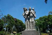 Work of Adelio Sarro Donated Para the Park City of São Bernardo Raphael Lazzuri, Avenue Kennedy, São Bernardo do Campo, São Paulo, Brazil