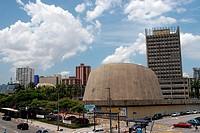 Municipal theater of Santo André, Avenue Dom Pedro II, São Paulo, Brazil