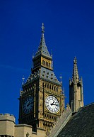 London England Westminster Close Up Of Big Ben