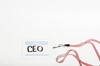 CEO name tag
