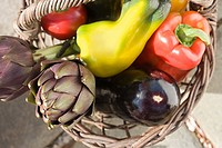 Basket of vegtables