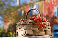 Basket of cherry tomatoes (thumbnail)