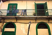 Panama, Panama City, Houses in Casco Viejo San Felipe,