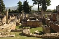 Croatia _ Dalmatia _ Split. Ancient Roman Salona