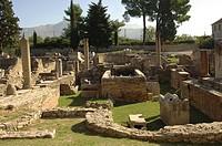 Croatia - Dalmatia - Split. Ancient Roman Salona