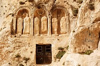 Syria - Saydnaya. Convent of Our Lady of Saydnaya, AD 547
