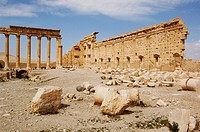 Syria - Palmyra. Ancient Palmyra. UNESCO World Heritage List, 1980. Temple of Bel, AD 1st-2nd century