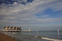 Italy - Friuli-Venezia Giulia Region - Udine Province - Lignano Sabbiadoro. Pier Terrazza a Mare