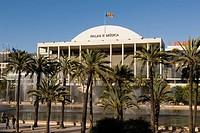 Spain - Valencia. Concert Hall Palau de la Musica. Designer architect Jose Maria Garcia de Paredes, 1987