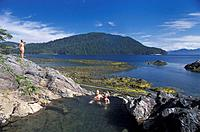Canada, North America, America, Hot Springs Island, Gwaai Hanass, national park, Queen Charlotte Islands, British Colu