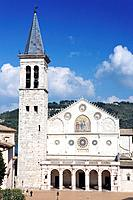 europe, italy, umbria, spoleto, dome