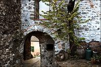 europe, italy, tuscany, bibola, medieval village