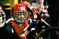 bambini, hockey su ghiaccio