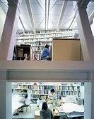 TOKYO LIVE WORK_ARCHITECTS OWN HOUSE AND OFFICE, TOKYO, JAPAN, ATELIER BOW_WOW, INTERIOR, INTERIOR VIEW_ENTRANCE AREA SHOWING STUDIO ON LOWER GROUND A...