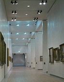 NATIONAL GALLERY OF IRELAND, CLARE STREET, DUBLIN, IRELAND, BENSON AND FORSYTH, INTERIOR, VIEW OF TEMPORARY GALLERIES WITH OPENING IMPRESSIONIST EXHIB...