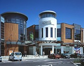 WESTCROSS SHOPPING CENTRE, THANET, KENT, UK, CHETWOOD ASSOCIATES, INTERIOR, OVERVIEW