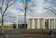 SINT LUCAS ART ACADEMY, BOXTEL, NETHERLANDS, FAT ARCHITECTS, EXTERIOR, STREET VIEW