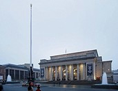 SHEFFIELD CITY HALL, BARKERS POOL, SHEFFIELD, S1, UK, PENOYRE & PRASAD ARCHITECTS, ENTERIOR, DUSK EXTERIOR