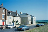 PRIVATE HOUSES, POUNDBURY, DOREST, UK, VARIOUS, EXTERIOR, MIXED STYLES OF HOUSING ON EDGE OF TOWN