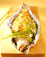 Korean food _ roast fish