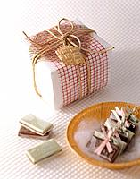 Gift box and sweets