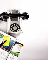 Telephone and magazine (thumbnail)