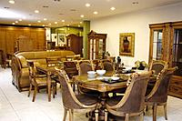 Interior view of restaurant