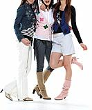 Fashionable young women (thumbnail)