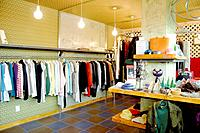 Clothing shop interior