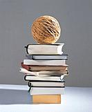 Ball and books