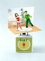 Weight scale and diet
