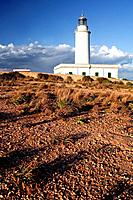 Lighthouse of la Mola. Formentera. Balearic Islands, Spain