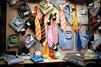 Neckties and shirts, Roma, Italy