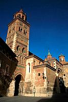 Cathedral (13th-14th century), Teruel. Aragon, Spain