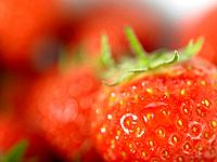 Strawberries close up (thumbnail)