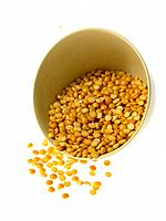 Raw Foods, Yellow Split Peas