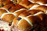 Unglazed Hot Cross Buns