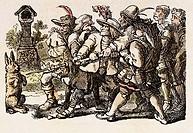 Märchen, historisch, Literatur, Die sieben Schwaben, 19. Jahrhundert, TEXT NOCH IN BEARBEITUNG