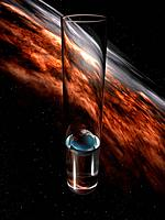 Planet earth in a test tube