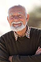 Smiling senior adult man (thumbnail)