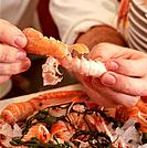Removing Langoustine Shells