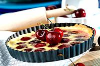 Sant Climent cherries cake