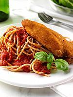 Chicken & Wholewheat Spaghetti