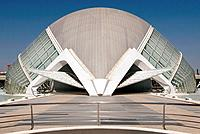 Palacio de las Artes Reina Sofía, City of Arts and Sciences by S. Calatrava. Valencia