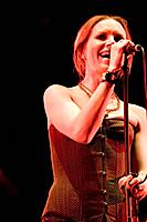 Nina Persson, lead singer of 'The Cardigans'. Summercase Festival 2006. Barcelona. Spain