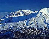 Mount Saint Helens National Volcanic Monument in winter