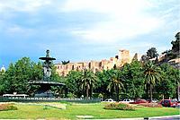 Spain _ Andalusia _ Malaga _ Alcazaba