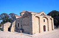 Cyprus _ Kiti _ Angeloktisti Church
